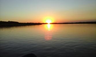 Sunset at Okavango Delta, Botswana