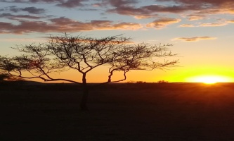 Sunset at Solitaire, Namibia