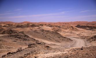 Namib Desert, rocky side, Namibia